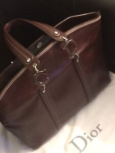 Authentic Christian Dior large tote bag