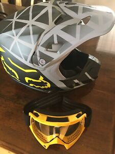 Fox Helmet and Thor Goggles