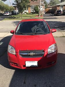 Chevy Aveo used {(AS IS)}