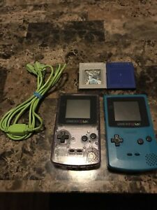 Gameboy colour, 2 games and trading cable