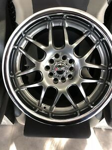 Ensemble de mags 17x9 XXR 526 chromiumnoir