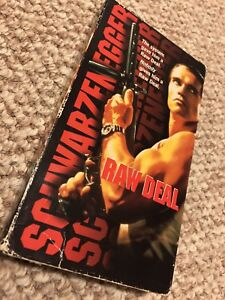 Raw Deal - VHS - SCHWARZENEGGER