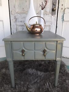Amazing antique side table