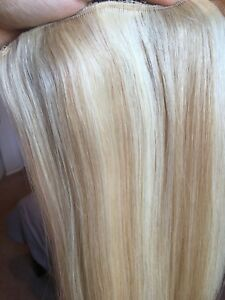 22 inch blonde clip in hair extensions