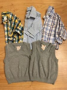 6-12mos Boys Dress Shirts