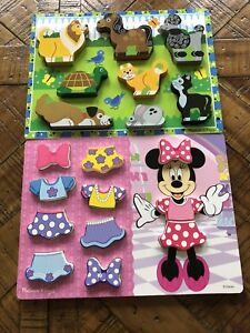 Wooden puzzles (sold together)