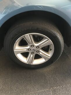 4 ford falcon XR8 wheels for sale (mags and tires)