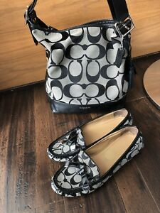 Coach woman bag & shoes size 38