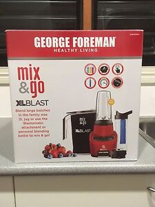 Brand New George Foreman Mix & Go XL Blast Pullenvale Brisbane North West Preview