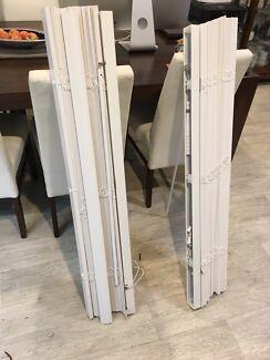 New inboxed white Venetian blind