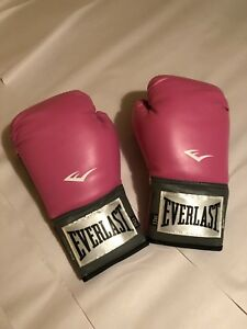 Pink Everlast Boxing Gloves 12 oz