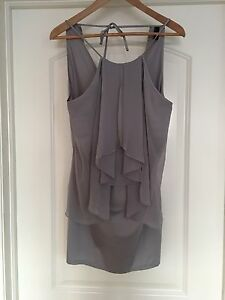 Vero Moda Grey Short Dress size small
