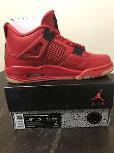 Air Jordan RETRO 4 NRG Fire Red brand 2018 holiday collection