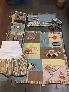 Pottery Barn Construction worker nursery set