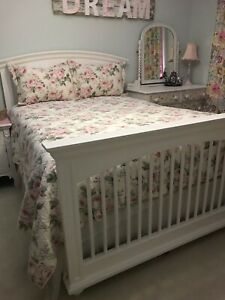 Double Head Board, Foot Board and Rails