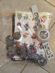 Yo-kai Watch, medals, etc