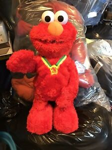 Tickle me Elmo  with box