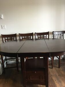 BAR HEIGHT  EXTENDED TABLE! PRICE ADJUSTED