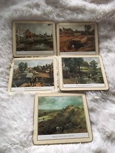 5 Pimpernel John Constable Paintings Hot Plate Trivets