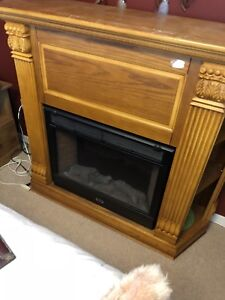 Electric Fire Place W/ Remote