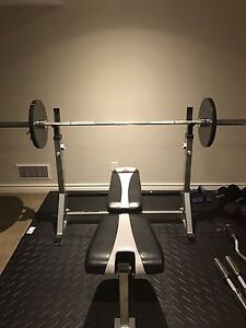 Weight Bench-Olympic Weights-Bars