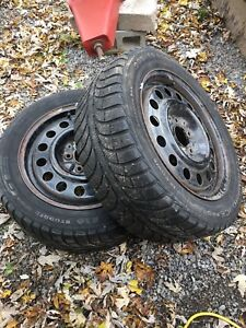 205/55 r 16 tires and rims 2 of them