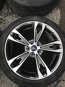 """19"""" Ford Fusion Machined Grey rims + Tires x4 Brand New."""