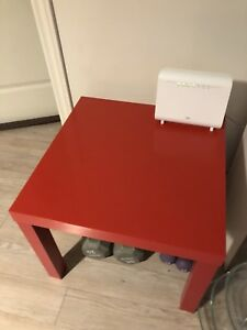 IKEA coffee / side table in RED