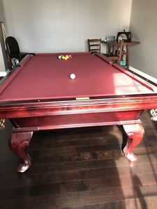 Pool table.  MINT CONDITION