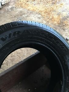 4 Good Year Wrangler P245/70R17 Tires