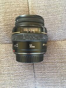 Canon EF  50mm 1.4 USM - Used