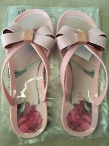 Brand New Ted Baker jelly flip flop sandals