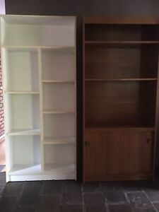 Bookcases Three or One of three $60 Wanneroo Wanneroo Area Preview