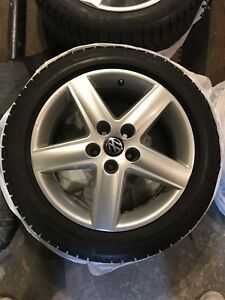 4 x Mags Audi 17 + 4 x Winter tire 225/50/17