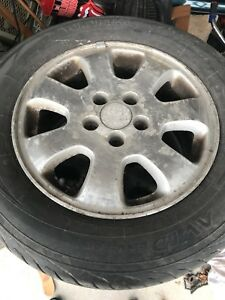 4 Honda 16 inch mags with tires 225 60 16