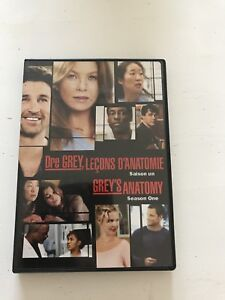 Dvd grey 's anatomy saison 1
