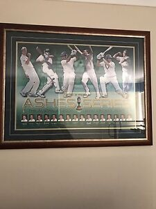 2006-07 Ashes cricket memorabilia Tapping Wanneroo Area Preview