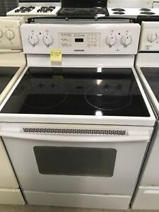1 year old Samsung glass top stove
