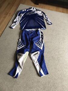Fox Brand Dirt Bike Racing  outfit