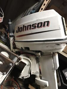 Johnson 2004 30 HP outboard