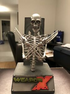 Weapon X Adamantium-Laced Skeleton Sideshow Collectible Statue