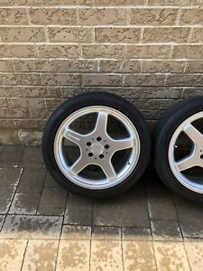 Mercedes AMG rims and tires 245 40 18