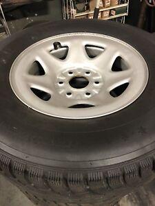 """2016 GM 17"""" steel wheels"""
