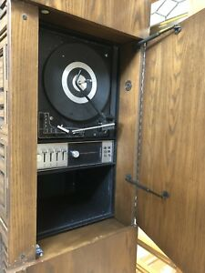 Viking Record player cabinet
