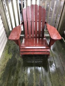Outdoor chair $20