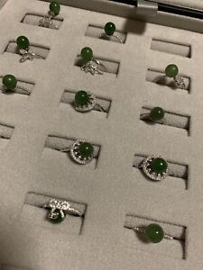 GENUINE BC JADE RINGS/PENDANTS