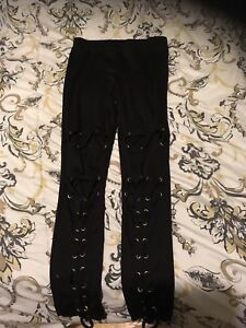 Woman's lace up pants from urban planet
