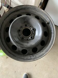 Bmw 3 series steel rims