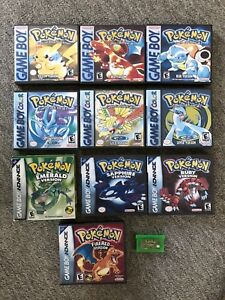 Various Gameboy Color, Advance, SP and DS Lite