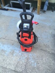 Pressure washer and electrical mower